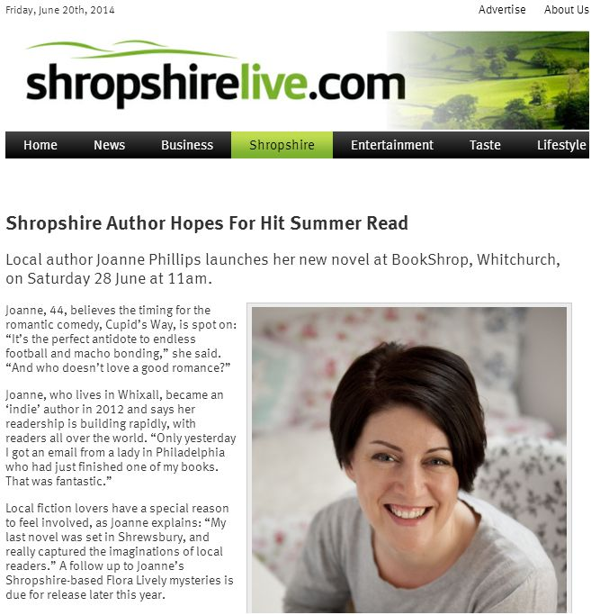shropshire live cupids way
