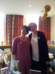 The lovely Nicky Wells at the Festival of Romance