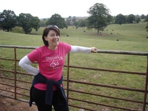 Walking for Thyroid UK in 2011