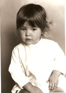Me at about 18 months. Little did I know ...