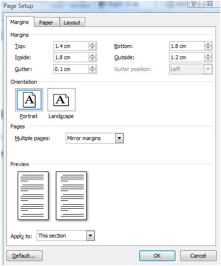 Typesetting Your Book In Word (2/5)