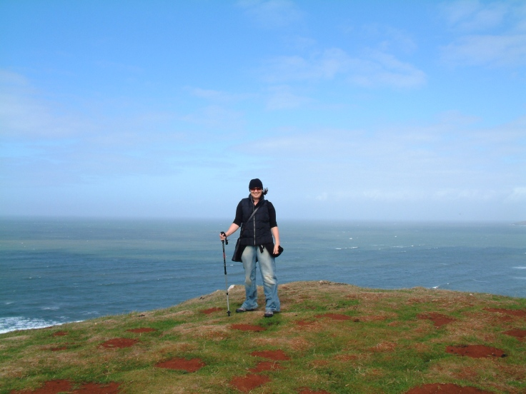 Dawn living life to the full at the Gower Peninsula in Wales