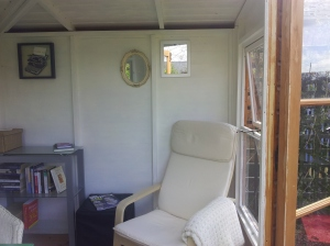 Summerhouse relaxing