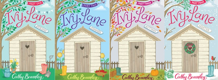 All 4 covers - Ivy Lane