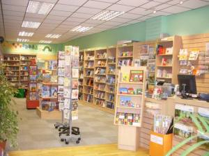 BookShrop interior
