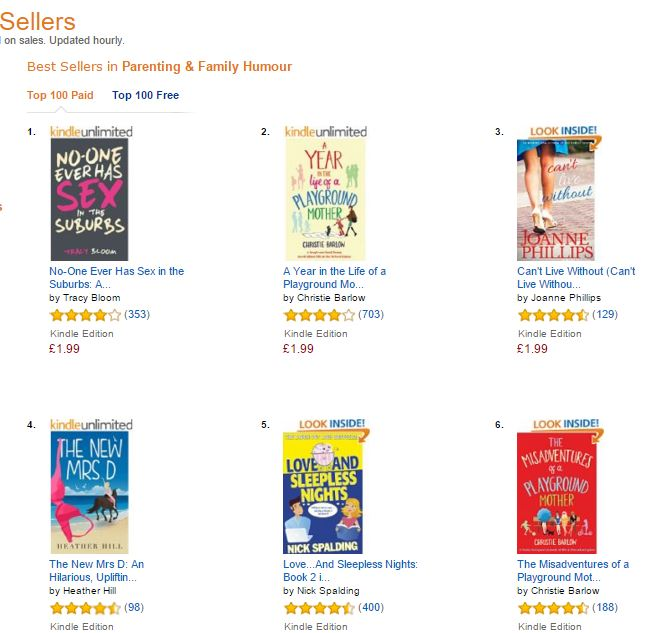 CLW bestseller parenting & families #3